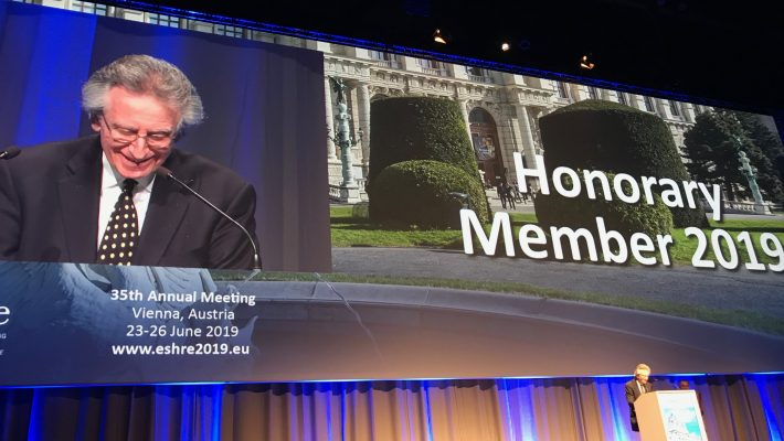 Professor Eli Y Adashi Receives Honorary Membership of ESHRE